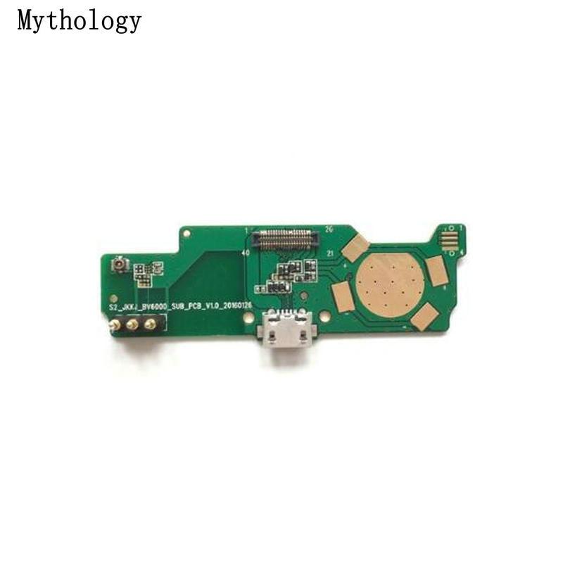 Mythologie pour Blackview BV6000 BV6000S USB Board Flex câble Dock connecteur 4.7 pouces étanche téléphone portable chargeur Circuits