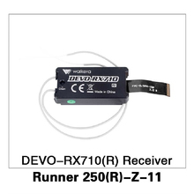 DEVO-RX710(R) Receiver for Walkera Runner 250 Advance GPS RC Drone Quadcopter Original Parts Runner 250(R)-Z-11