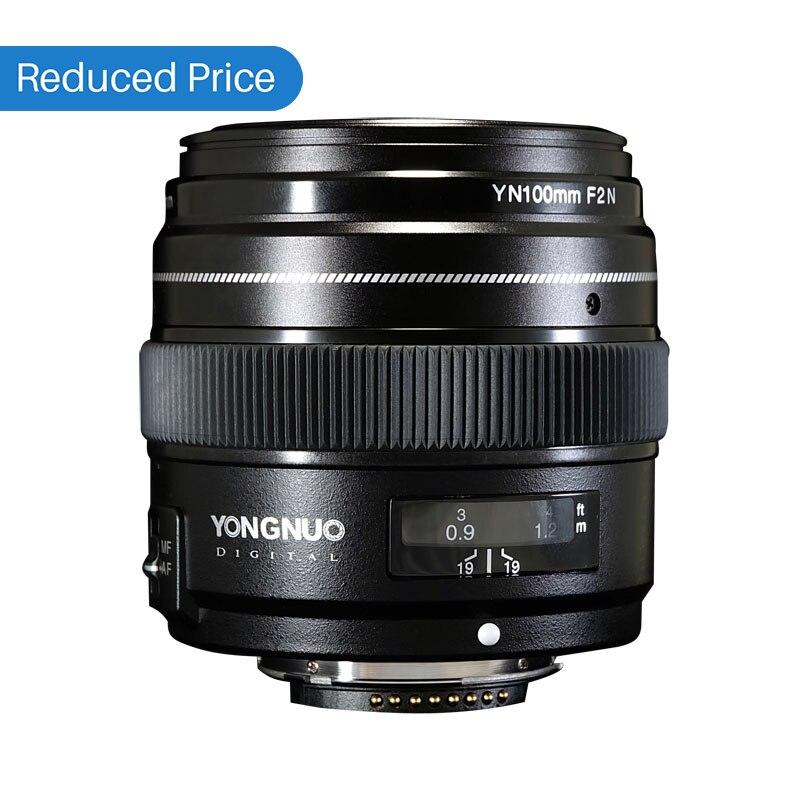 Ulanzi Yongnuo 100mm F2 Lente Grande Apertura AF/MF Medio Teleobiettivo Prime Lente YN100mm Per Nikon D7200 D7100 d7000 D5600