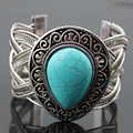 1pair/lot Vintage Tibetan Silver Native American Jewelry Hot Sale Bracelets & Bangles