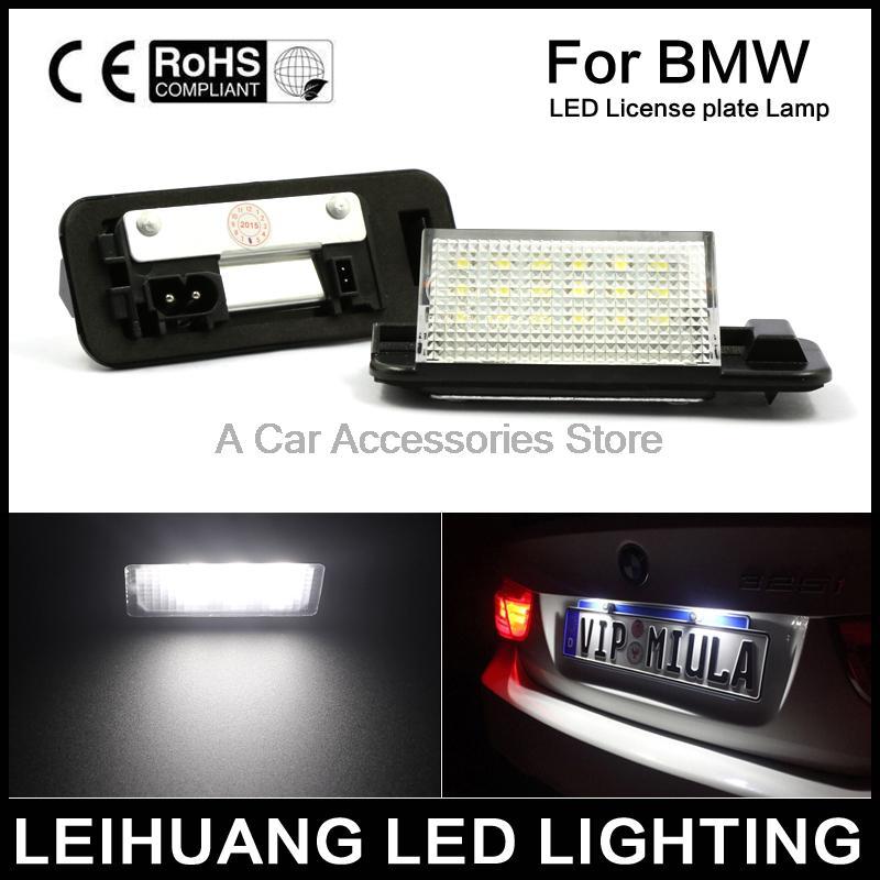 BMW E36 E60 E61 E90 E91 E92 OEM FER Rear License Plate Light New 325i 328i 330i