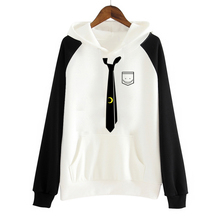 Anime Assassination Classroom Korosensei Hooded Fashion Coat Sweatshirts Jackets for Girls/Women