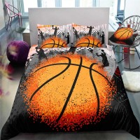 3D Boys Basketball Sports Bed Linens Set Bedclothes Quilt Comforter Cover Adults Children Queen King Bedding Duvet Cover Set