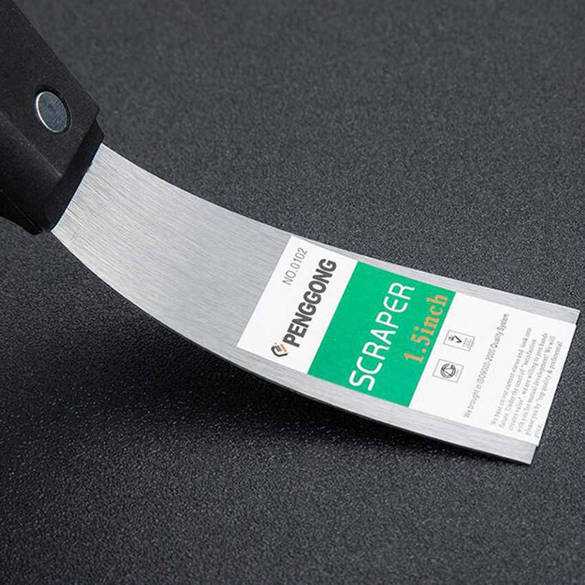 "Putty Knife Scraper Blade 1"" 1.5"" 2"" 2.5"" 3"" 4"" 5"" Scraper Shovel Carbon Steel Plastic Handle Wall Plastering Knife Hand Tool"