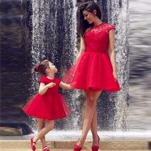 Schöne Rote Spitze Abendkleid Schöne High Neck Und Appliques kurze Brautkleider 2016 Vestido De Festa Günstige Tüll Prom kleid