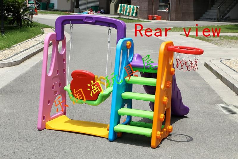 Children\'s indoor playground slide home multifunctional slip plastic ...