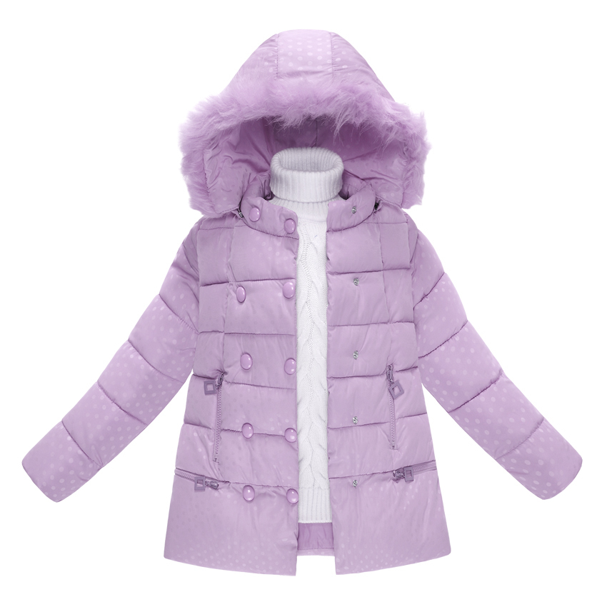 ФОТО Children Outerwear Baby Girls Cotton Hooded Coats Winter Jacket Kids Coat Children's Winter Clothing Girls Down & Parkas 6