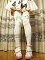 Princess sweet lolita pantyhose Japanese snow sound Snow rabbit of socks False over-the-knee printing pantyhoseLWK65