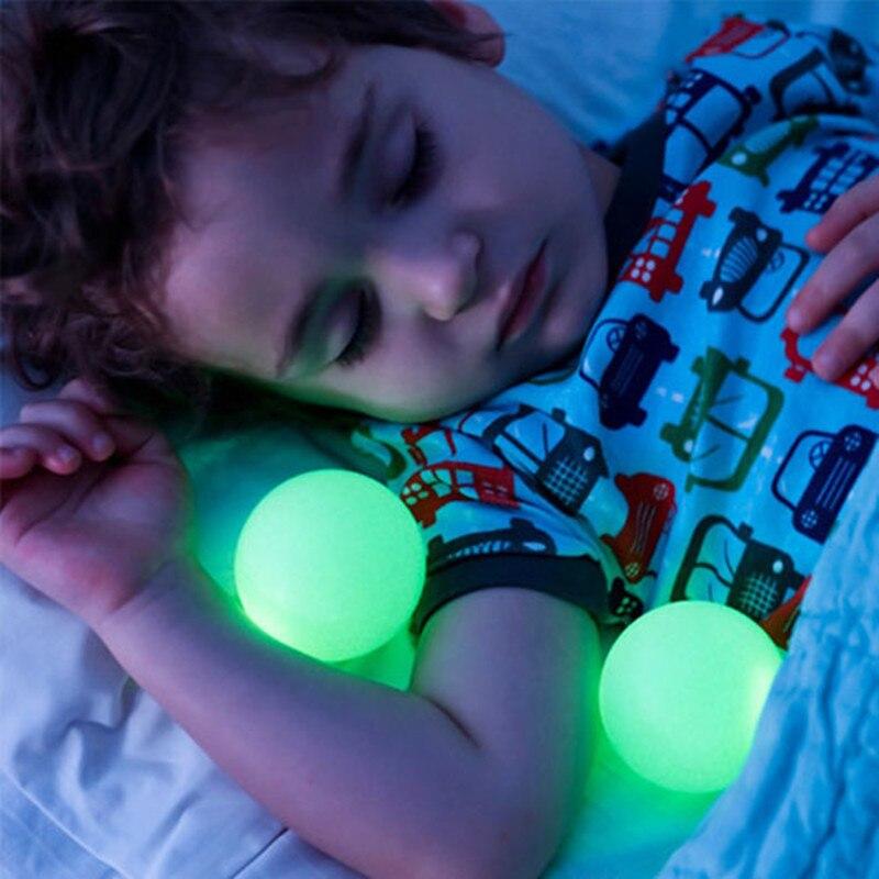Delightful Colorful Led Night Light Glowing Balls Children Kids Romantic Mushroom LED  Lamp Bedroom Decoration Lights Free Shipping In Night Lights From Lights ...