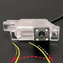 Intelligent Dynamic Trajectory Tracks HD Car Rear View Camera For Peugeot 1007 2008 208 301 307 308 406 407 408 508 607 806 807