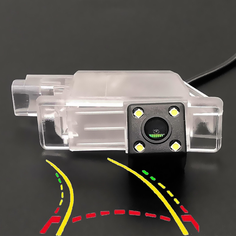 Intelligent Dynamic Trajectory Tracks HD Car Rear View Camera For Peugeot 1007 2008 208 301 307 308 406 407 408 508 607 806 807