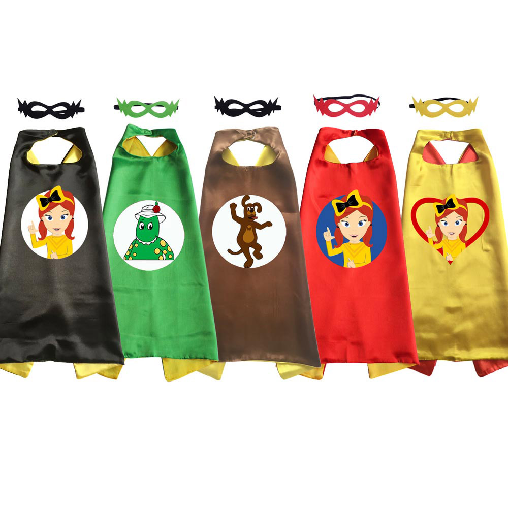 Emma Wiggle Costume Cape Girls Halloween Costumes For Birthday Party Favor