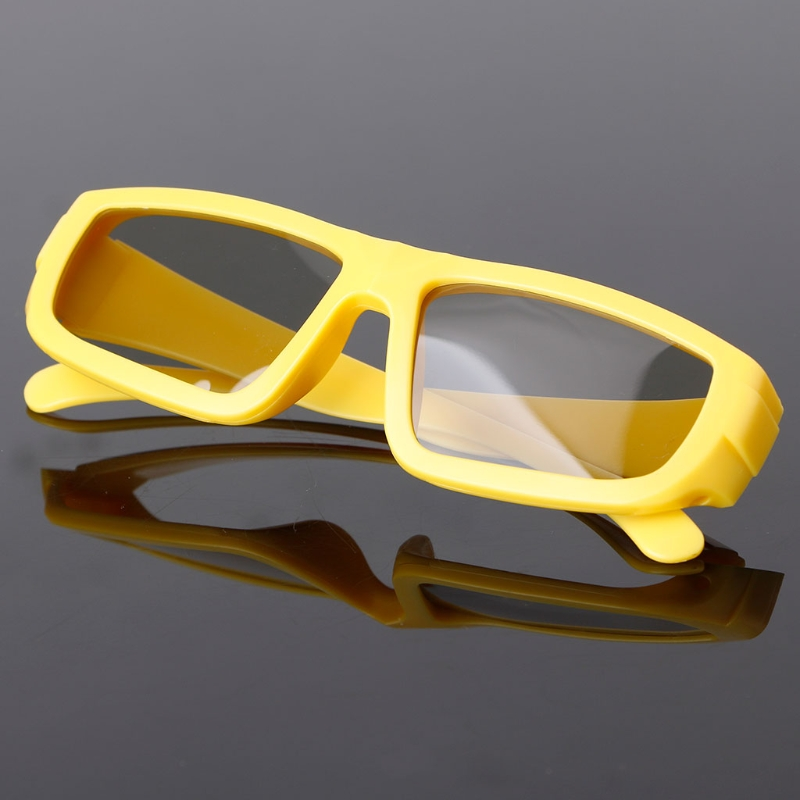 Children Size Circular Polarized Passive 3D Glasses For Real D 3D TV Cinema Movie