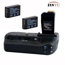 JINTU Вертикальная Батарейная ручка держатель для Canon EOS 750D 760D+ 2x LPE17 комплект Rebel T6i T6s X8i 8000D DSLR камера Замена BG-E18