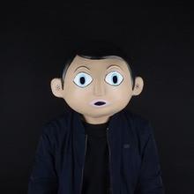 Film 2014 Frank Chris Sievey maszkok DJ sisak zenész maszk Cosplay halloween maszk party kellékek