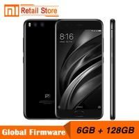 Original Xiaomi Mi6 Mi 6 6GB RAM 128GB ROM Snapdragon 835 Octa Core Mobile Phone 4G+ 5.15