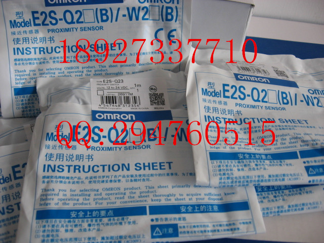 цена на [ZOB] 100% brand new original authentic OMRON Omron photoelectric switch E2S-Q23 1M --2PCS/LOT