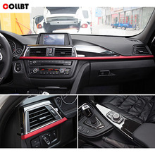 COLLBT ABS Matte Center Console Decoration Panel Cover Trim For BMW 3 4 Series F30