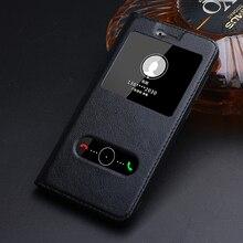Подлинная Флип кожаный чехол для Huawei Honor 8 lite чехол с окном задняя крышка 8 Lite телефон сумки роскошный фирменный дизайн