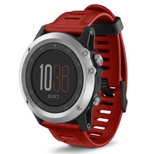 Best Price ! New SPORT Silicone Replacement Band for GARMIN FENIX 3 For Garmin Fenix 3  high quality drop shipping 43DEC22