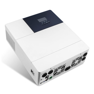 Image 2 - 60A 80A כל אחד שמש תשלום מהפך 2500W 3000W 3500W SPWW טהור סינוס גל MPPT 110V 120V 50Hz 60Hz היברידי שמש Inversor