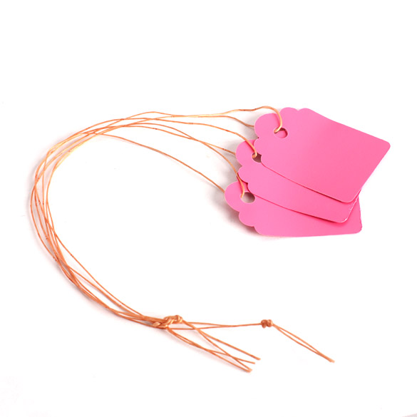 100pcs Waterproof Strip Line Gardening Labels Signs Plant Hanging Tags E2shopping