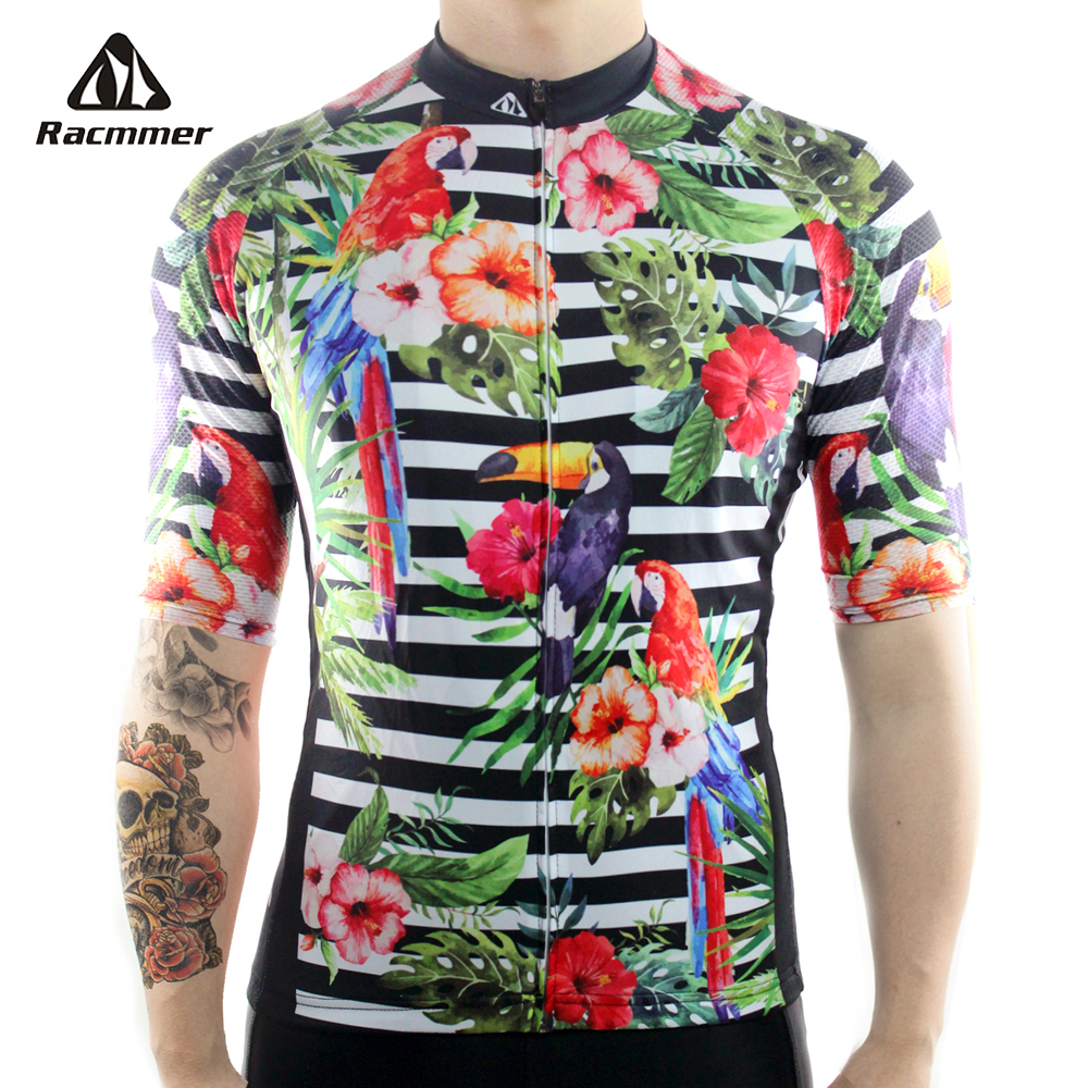 цена на Racmmer 2018 Breathable Cycling Jersey Summer Mtb Bicycle Short Clothing Ropa Maillot Ciclismo Sportwear Bike Clothes #DX-39
