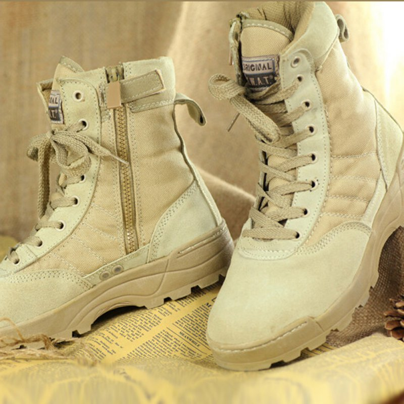 Men Forced Entry Tactical Deployment Boot Military High Quality Duty Boots
