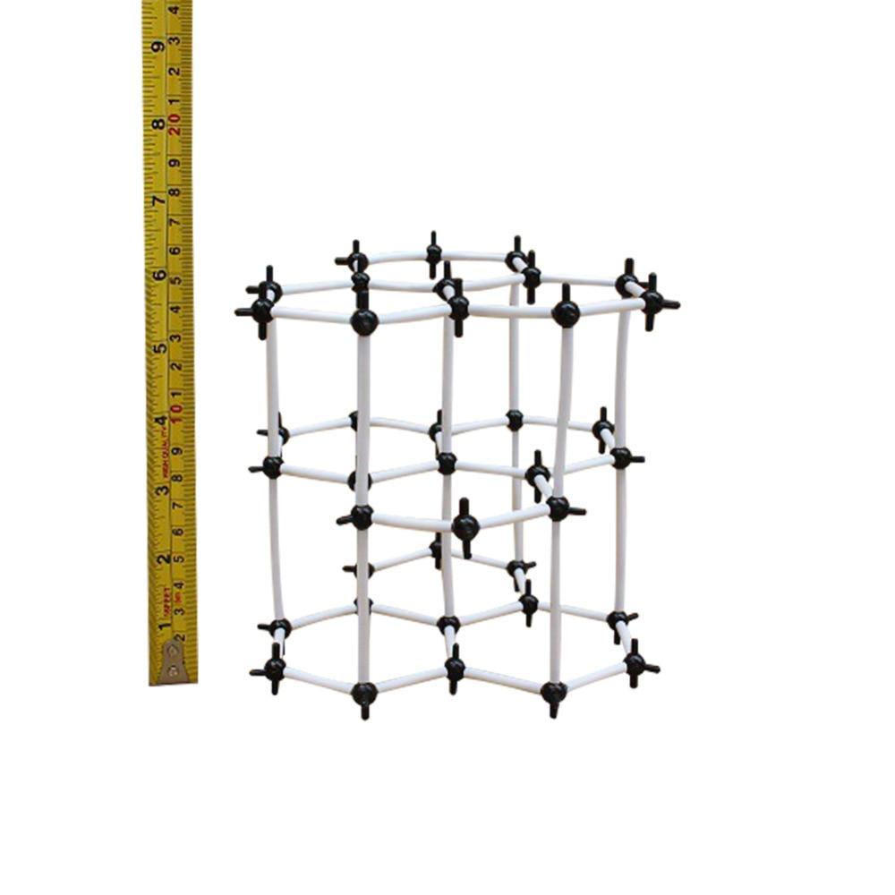 Graphite Crystal Molecular Structure Model  Ball Diameter 9mm Teacher School & Educational Organic Chemistry Equipment Supplies motorcycle brake pipe tubing brake hose line 450mm universal fit atv dirt pit bike for honda 125 crf2crf 250 450r x xt 225 250r
