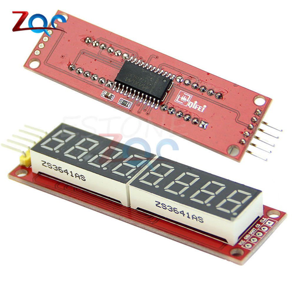MAX7219 8 Digit LED Display 7 Segment Digital Tube Module For Arduino Raspberry Pi