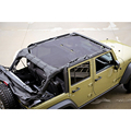 Передняя Eclipse Зонтик Сетки Бикини Верхняя Крышка Обеспечивает Защиту От УЛЬТРАФИОЛЕТОВОГО ИЗЛУЧЕНИЯ для 2/4 Двери для Выбора Jeep Wrangler Unlimited JK модели