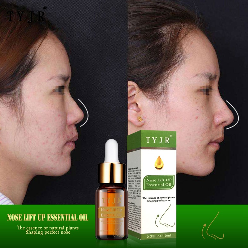 Thin Nose Up Essential Oil 10ml Nose Up Heighten Rhinoplasty Nasal Bone Remodeling Pure Natural Care Thin Smaller Nose