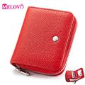 Fashion Genuine Leather Women Purse Wallets Female Short Wallet For Credit Card Ladies Small Wallets Clutch  M830