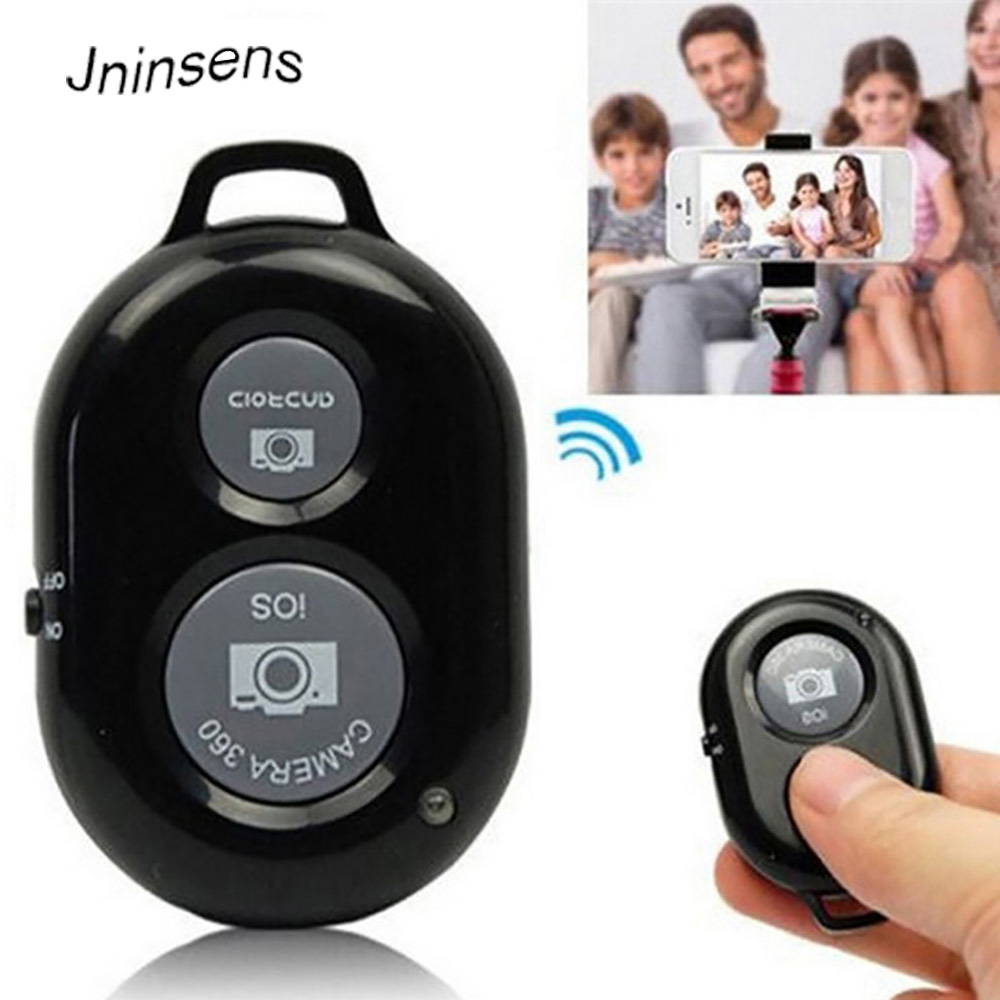 Jninsens Universal Bluetooth Remote Shutter Control Release Bluetooth Shutter for Android IOS Huawei Xiaomi Smart Phone casual rivets and tassel design crossbody bag for women href
