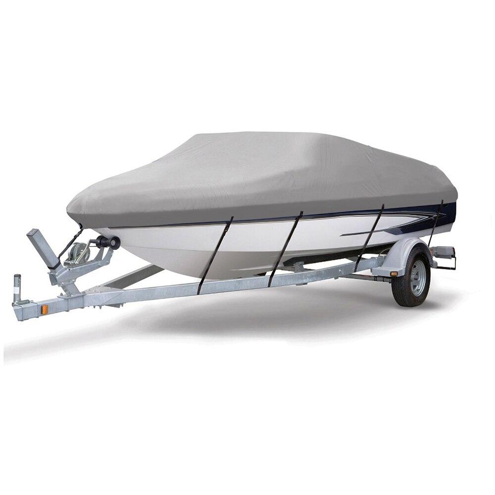 600D PU Enduit Heavy Duty Transportable Couverture De Bateau, 14-16 'X90 , Classique Accessoires, de Haute Qualité Imperméable À L'eau, UV anti, de qualité marine