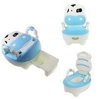 Cartoon Baby Plastic Toilet Girls Boy Portable Potty Seat Folding Chair Cute Drawer Training Potty Children