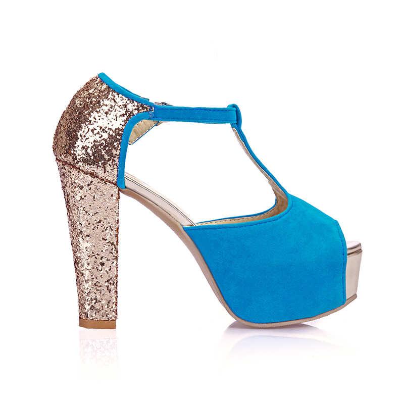 2016 Limited nouveau gladiateur sandales femmes Tenis Feminino grande taille 34-43 sandales dames dame chaussures à talons hauts femmes pompes 171