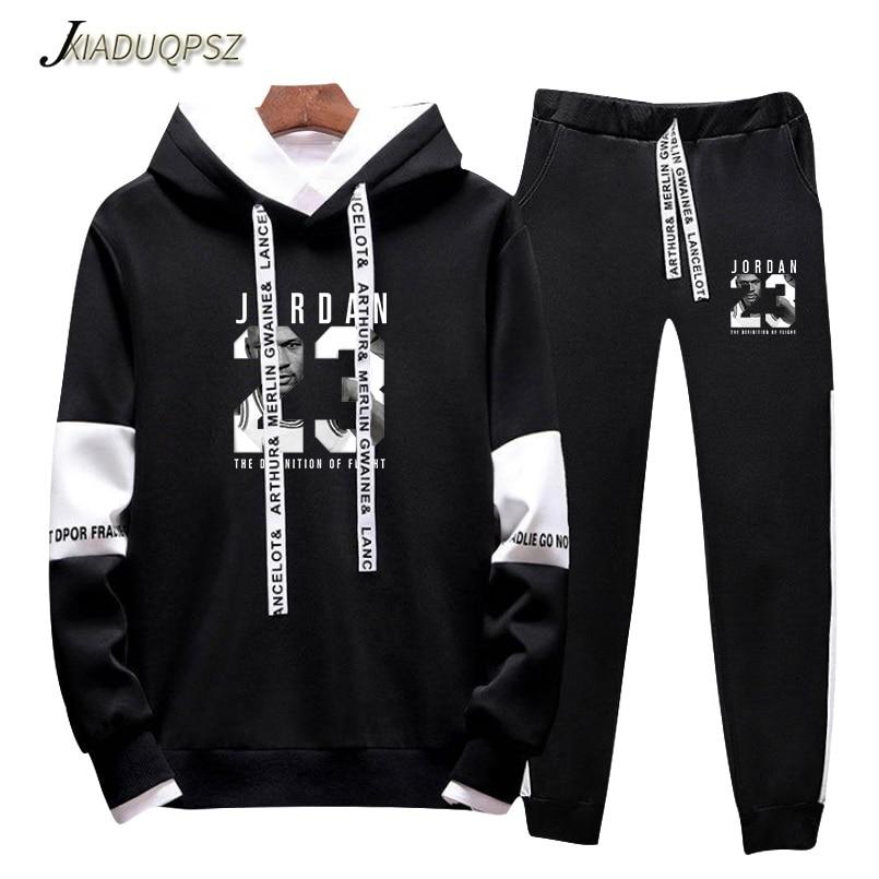 New 2019 Brand New Fashion JORDAN 23 Men Sportswear Print Men Hoodies Pullover Hip Hop Mens tracksuit Sweatshirts Clothing 4XL
