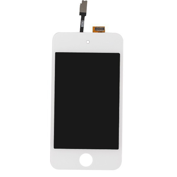 Original white LCD Display Touch screen Digitizer Assembly For Apple iPod Touch 4 4G Free shipping