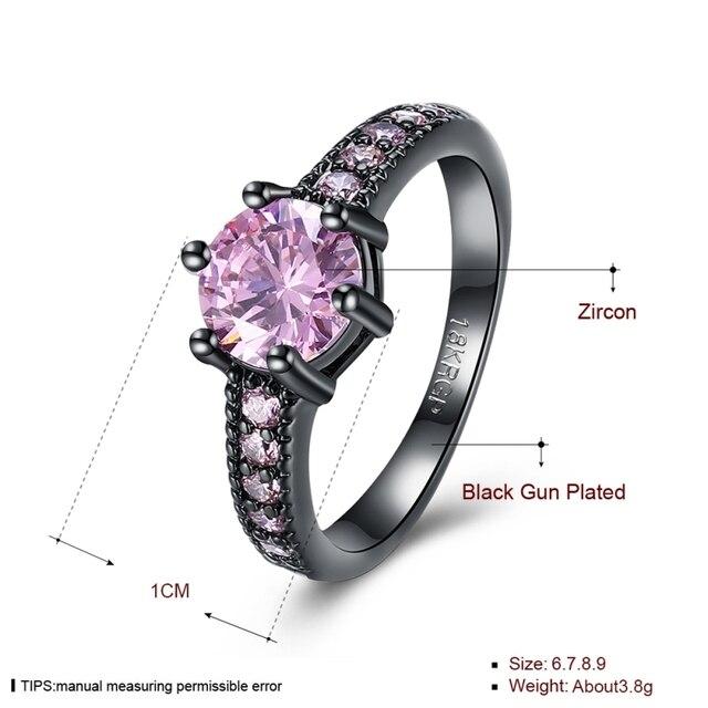 Купить модные кольца для женщин милые стильные обручальные с розовым картинки