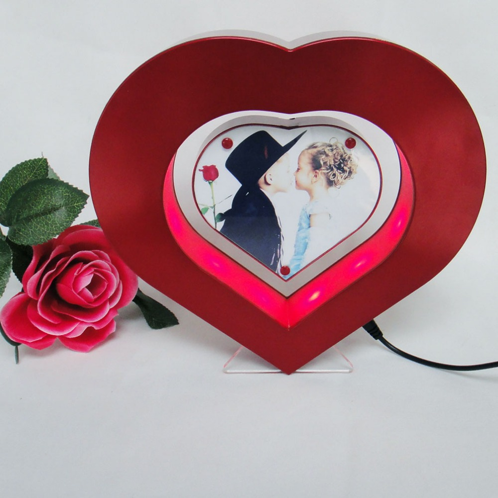 Valentine' Day Heart Shaped Magnetic Floating