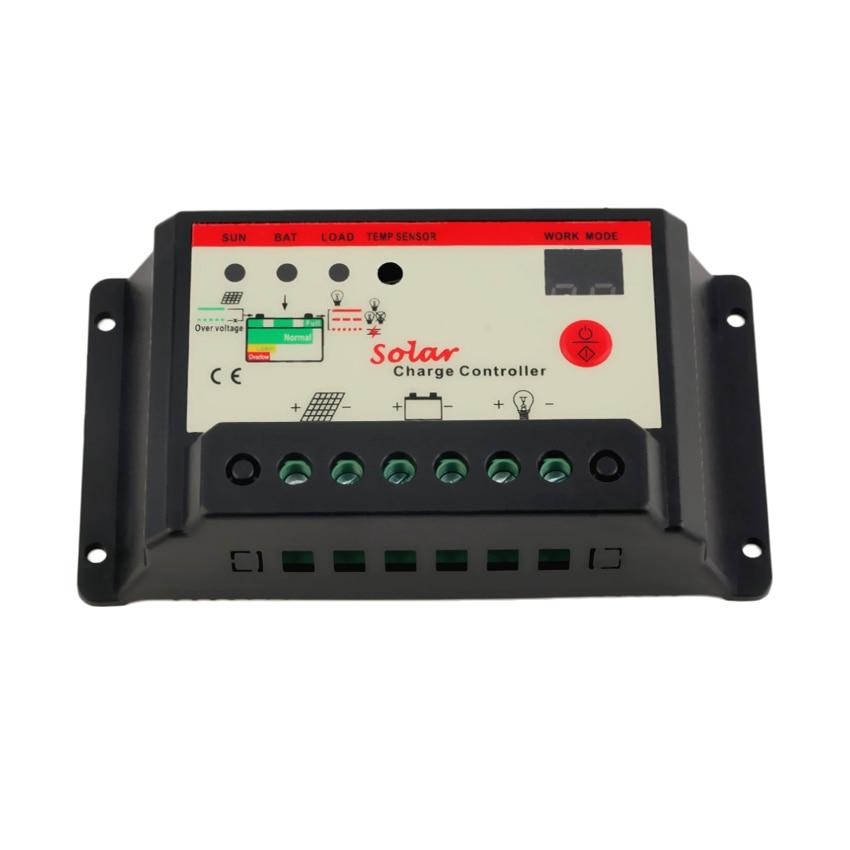 10A 12V 24V Solar panel Battery Charge Controller lamp Regulator Timer 10W 20W 30W 50W 100W 200Wsolar cell10A 12V 24V Solar panel Battery Charge Controller lamp Regulator Timer 10W 20W 30W 50W 100W 200Wsolar cell