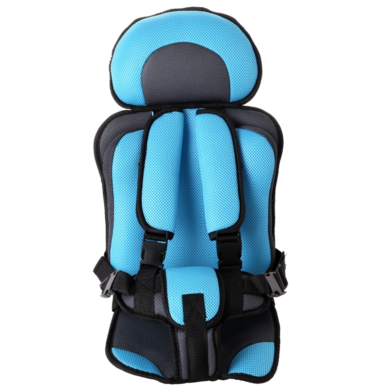 Car Child Baby Protection Seat Portable Sponge Child Chair For Children Aged 6~12 Years Old(China)