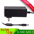 1pcs 5V US plug power supply  5V 3A AC-DC 100-265V  power adapter