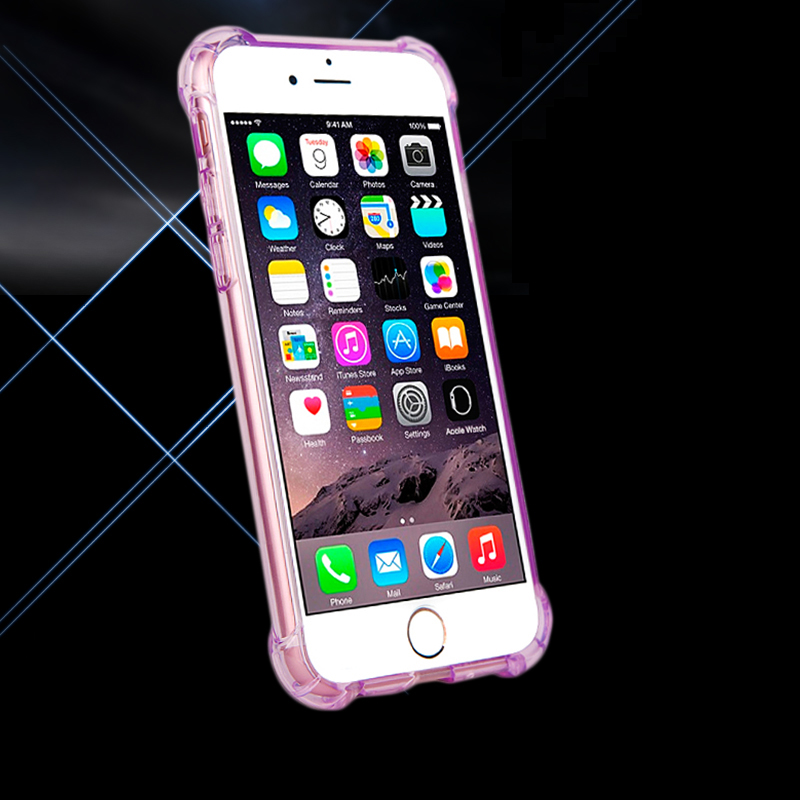 ITEUU 6 6S Plus TPU Soft Super Anti-Knock Case for iPhone 6 6S Plus - მობილური ტელეფონი ნაწილები და აქსესუარები - ფოტო 6