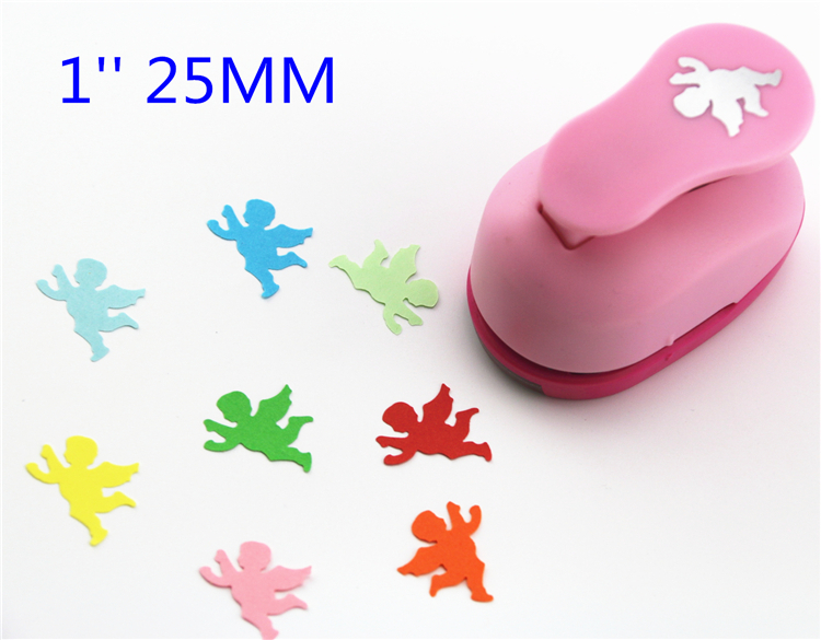 Free Ship 1'' (2.5cm) Angel Paper Cutter Punches Paper Punch Eva Foam Punch Child Diy Craft Punch Scrapbook Puncher