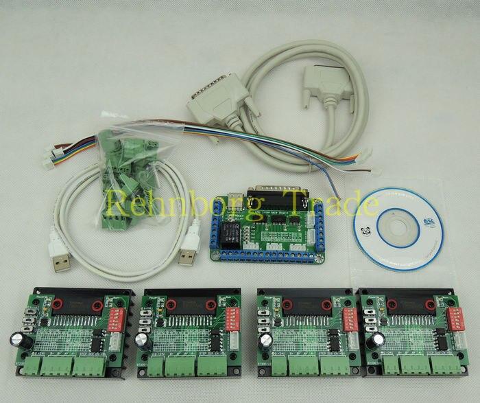 4 Controller Motor Axis Stepper