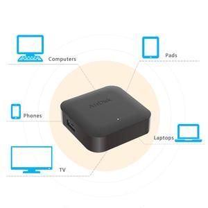"Image 5 - Airdisk Q1 Mobile network hard disk USB2.0 2.5"" Home Smart Network Cloud Storage Multi person sharing Mobile Hard Disk Box"