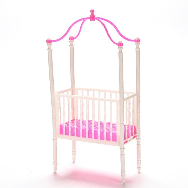 Pequeño dulce bebé cuna para Barbie Niñas muñeca Muebles Kelly ...