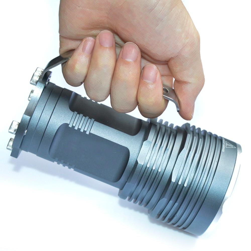 AloneFire 5T6 5XCREE XM-L T6 LED 18650 Flashlight Handheld Torch Camping Lamp Light H5